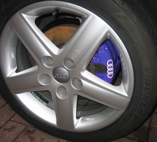 What Colour Brake Calipers